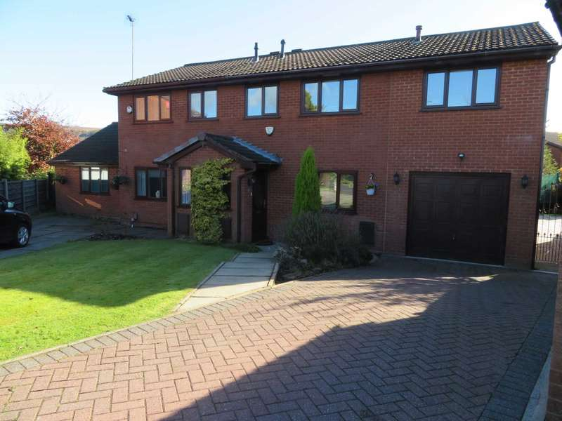 5 Bedrooms Semi Detached House for sale in Chertsey Close, Shaw
