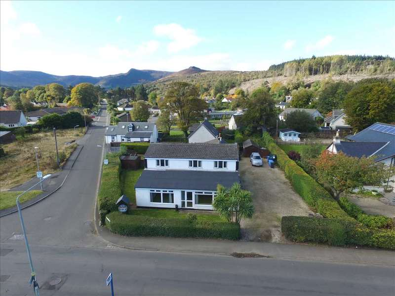4 Bedrooms Detached House for sale in Orwin House & Cottage, Shore Road, Isle of Arran