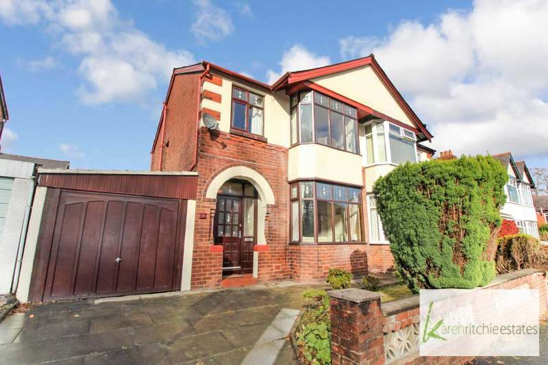 3 Bedrooms Semi Detached House for sale in Welbeck Road, Bolton