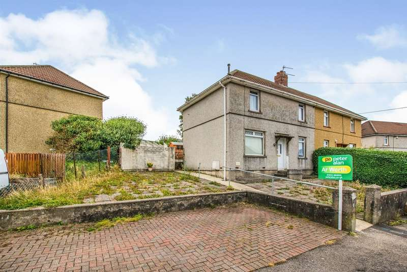 3 Bedrooms Semi Detached House for sale in Wellington Road, Talywain, Pontypool