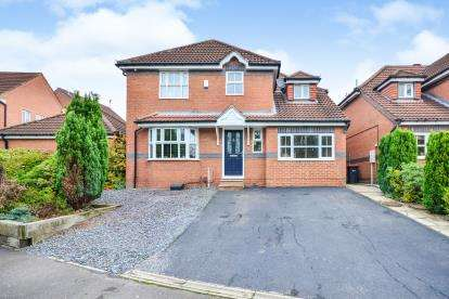 4 Bedrooms Detached House for sale in Sudbury Drive, Huthwaite, Nottinghamshire, Notts