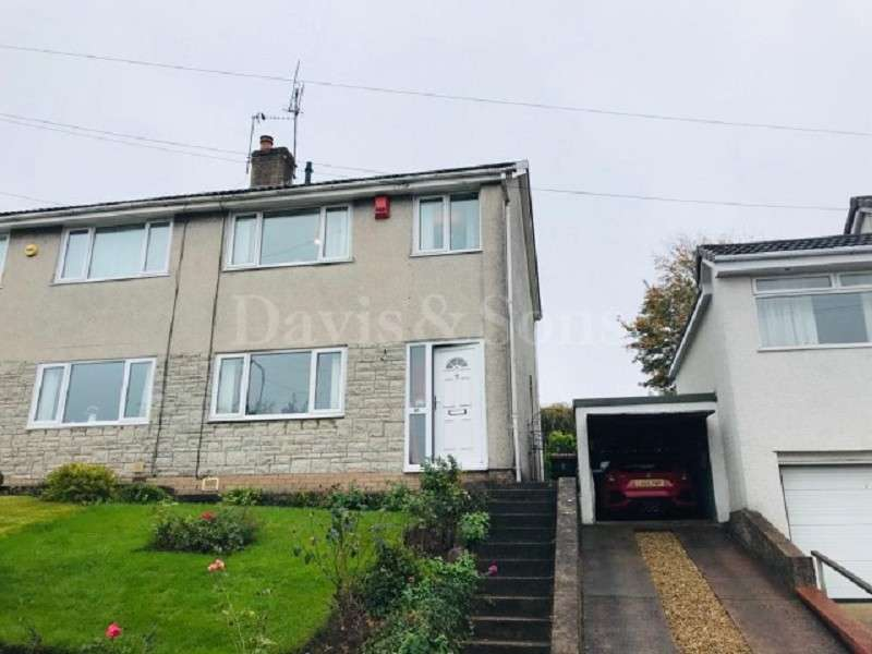 3 Bedrooms Semi Detached House for sale in Laurel Road, Bassaleg, Newport. NP10 8XS