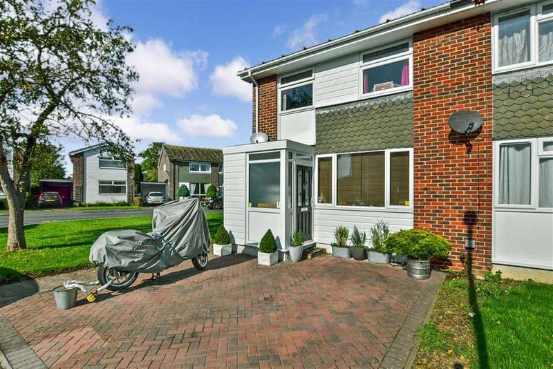 3 Bedrooms End Of Terrace House for sale in Robins Close, , Hythe, Kent