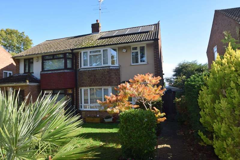 3 Bedrooms Semi Detached House for sale in Lords Wood Lane, Lordswood, Chatham, ME5