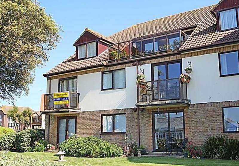 2 Bedrooms Flat for sale in Cliff-Top Apartment