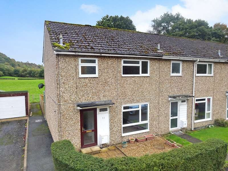 3 Bedrooms End Of Terrace House for sale in 11 Edw Crescent, Aberedw, Builth Wells, Powys, LD2 3UH