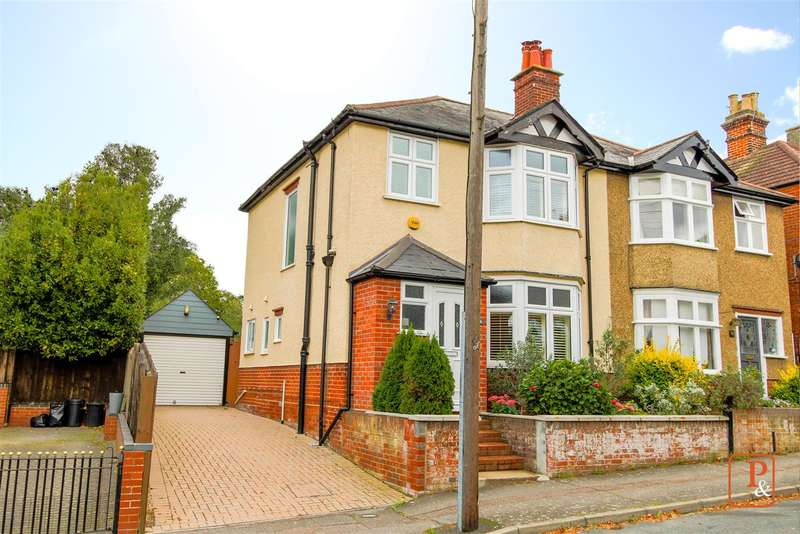 3 Bedrooms Semi Detached House for sale in Errington Road, Colchester, CO3