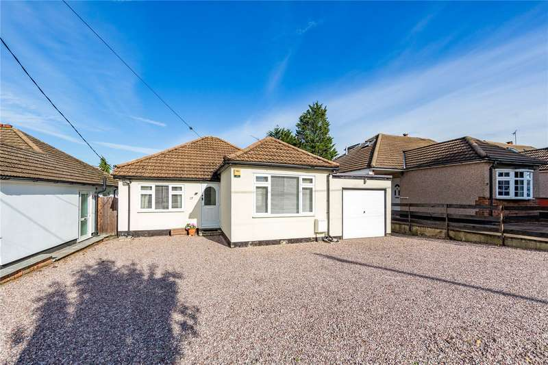 3 Bedrooms Detached Bungalow for sale in Kings Gardens, Upminster, RM14