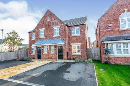 3 Bedrooms Semi Detached House for sale in Main Drive, Lytham St Anne's, Lancashire, England, FY8
