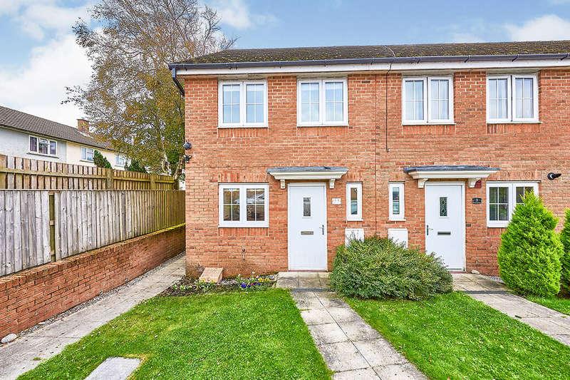2 Bedrooms End Of Terrace House for sale in Weavers Avenue, Frizington, Cumbria, CA26