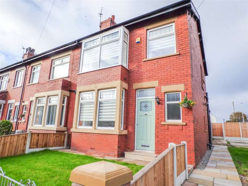 3 Bedrooms End Of Terrace House for sale in Building Plot PLUS, Preston Old Road, Stanley Park, Blackpool