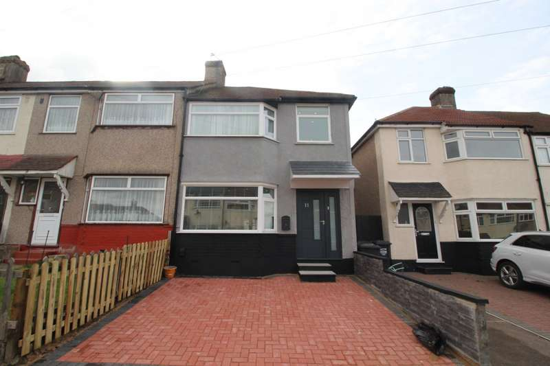 3 Bedrooms End Of Terrace House for sale in Savoy Road, Dartford, Kent, DA1