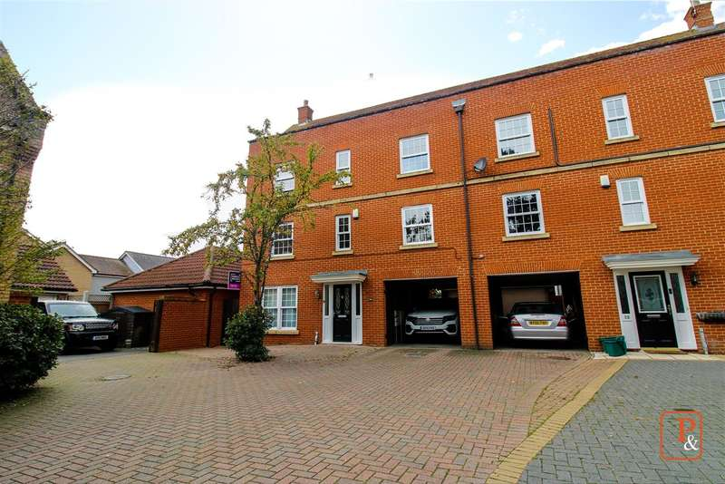 4 Bedrooms Town House for sale in Septimus Drive, Highwoods, Colchester CO4