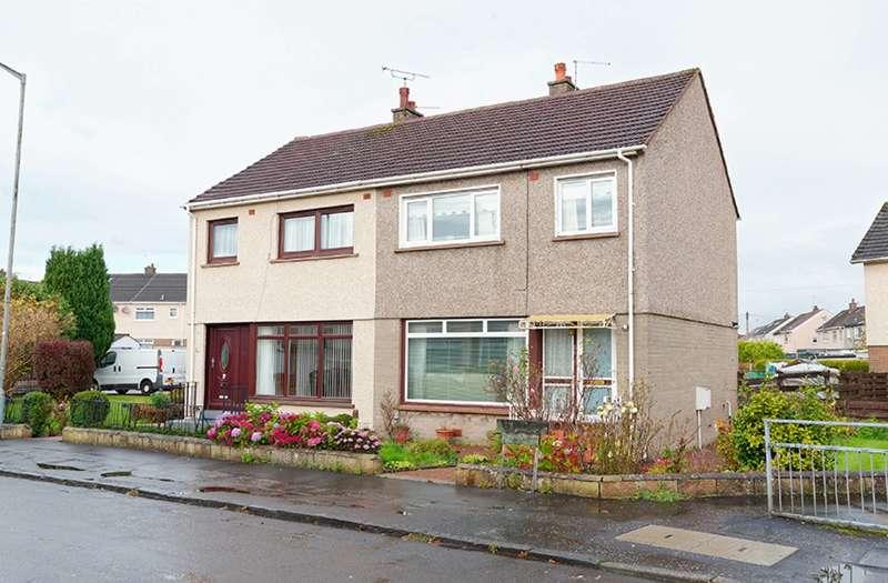 3 Bedrooms Semi Detached House for sale in Gargrave Avenue, Baillieston, Glasgow, G69 7LR