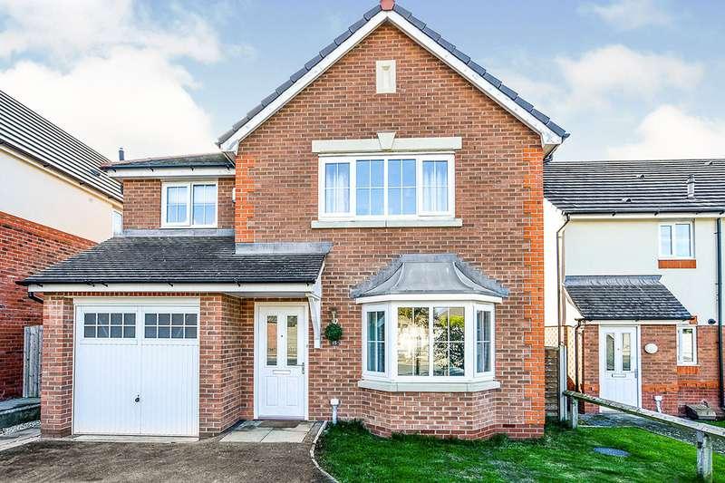 3 Bedrooms Detached House for sale in Lon Goed, Prestatyn, Denbighshire, LL19