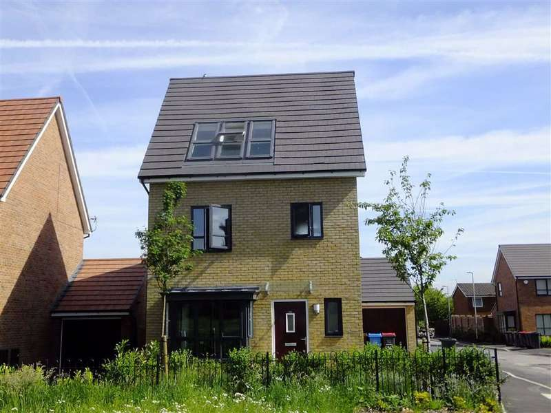 4 Bedrooms Detached House for sale in Meadow Road, New Broughton
