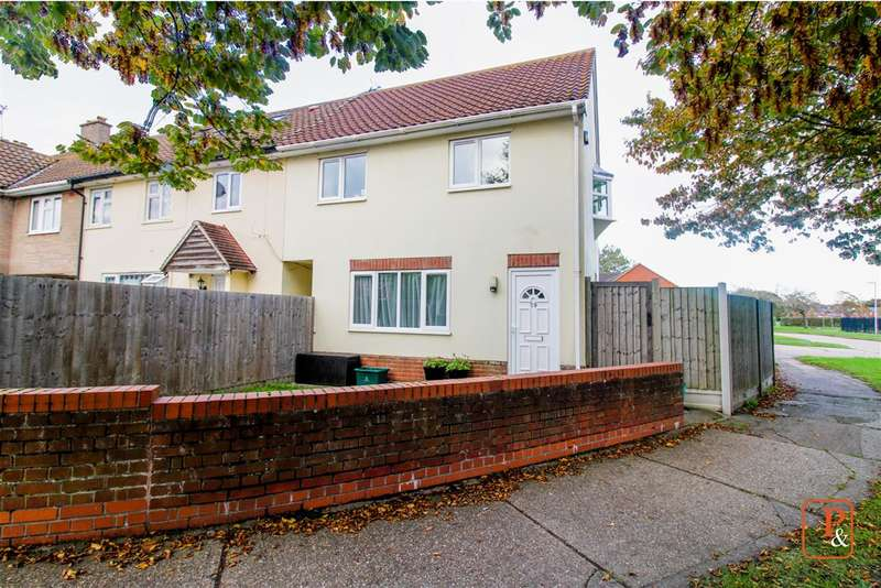 2 Bedrooms End Of Terrace House for sale in Gloucester Avenue, Shrub End, Colchester, CO2