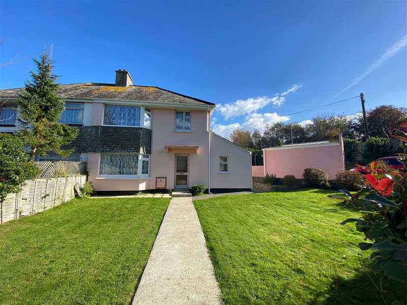 3 Bedrooms Semi Detached House for sale in Coombe Road, Penzance