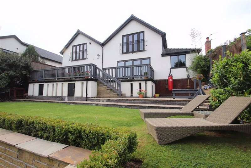 4 Bedrooms Detached House for sale in Woodlands Road, Pownall Park, Wilmslow