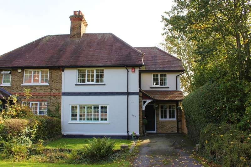 3 Bedrooms Semi Detached House for sale in Monkhams Lane, Woodford Green