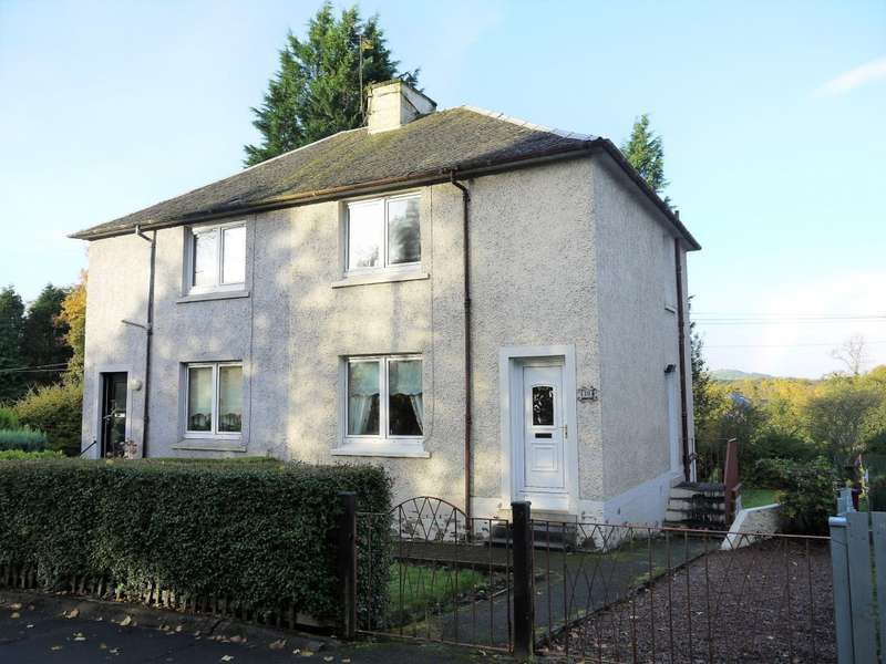 2 Bedrooms Semi Detached House for sale in Clyde Terrace, Glasgow, G71