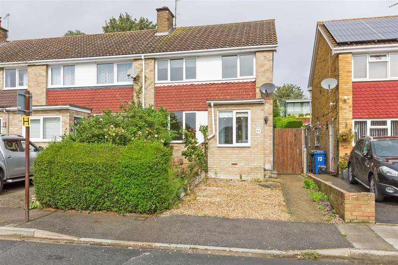 3 Bedrooms End Of Terrace House for sale in Coombe Drive, Sittingbourne