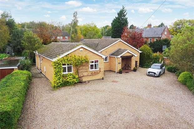 4 Bedrooms Detached Bungalow for sale in Leicester Road, Kibworth Harcourt, Leicester