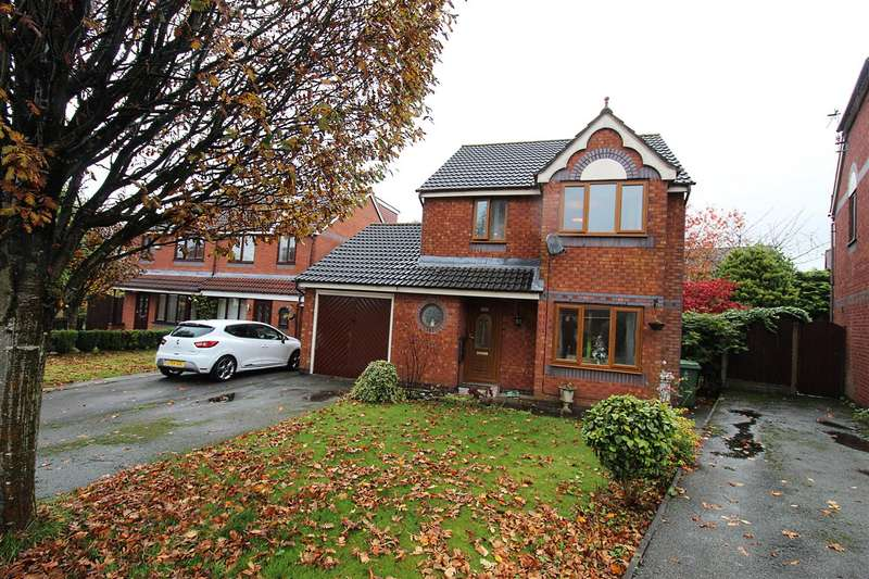 3 Bedrooms Detached House for sale in Gresley Avenue, Horwich, Bolton