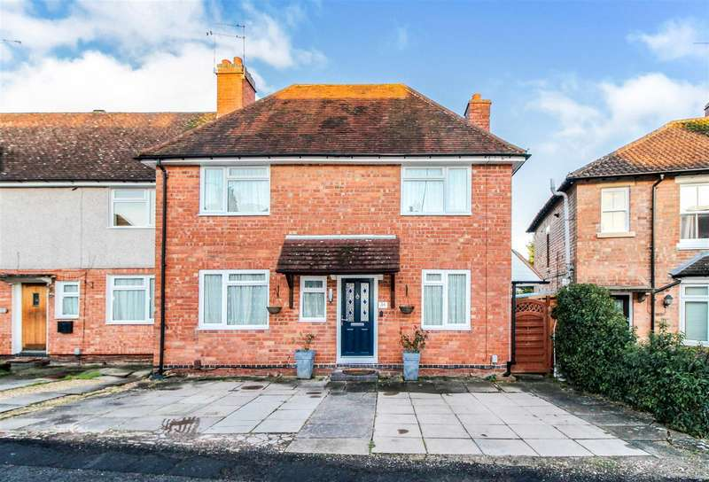 3 Bedrooms End Of Terrace House for sale in Newburgh Crescent, Warwick