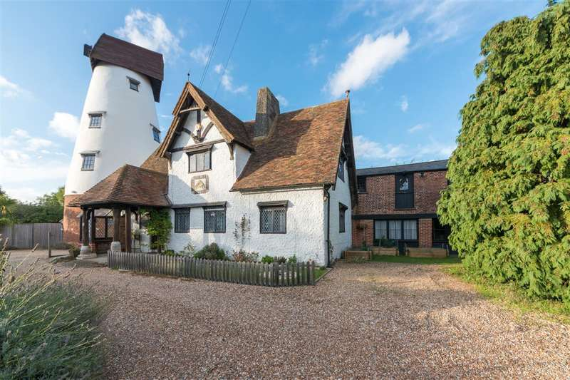 5 Bedrooms Semi Detached House for sale in The Old Mill House, Windmill Close, Canterbury