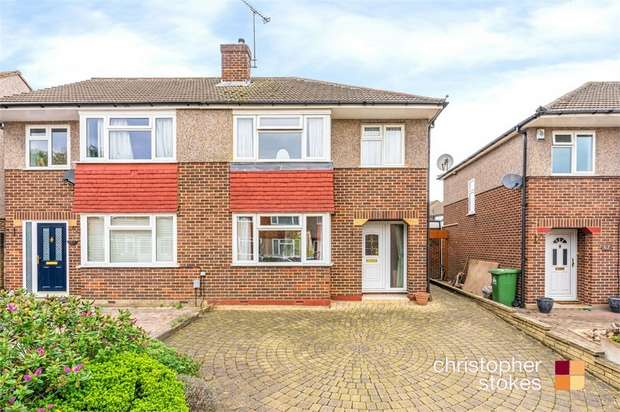 3 Bedrooms Semi Detached House for sale in Littlebrook Gardens, Cheshunt, Hertfordshire