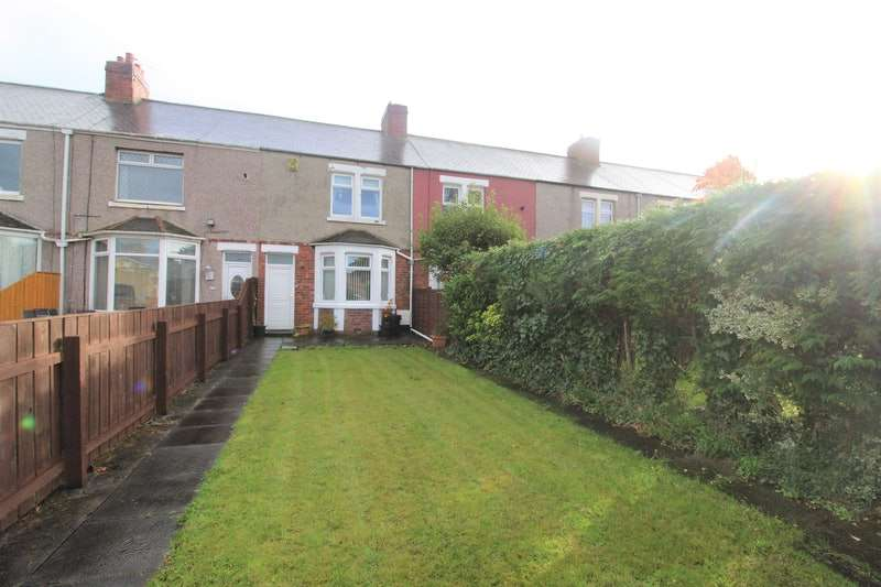 2 Bedrooms Terraced House for sale in Third Avenue, Ashington, Northumberland, NE63
