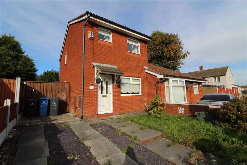 2 Bedrooms Semi Detached House for rent in Elstead Road, Kirkby
