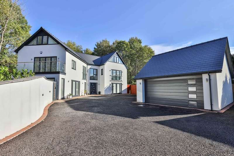 5 Bedrooms Detached House for sale in Church Lane, Coedkernew, Newport