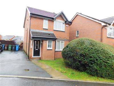3 Bedrooms Detached House for sale in Burghley Avenue, Leesbrook, Oldham