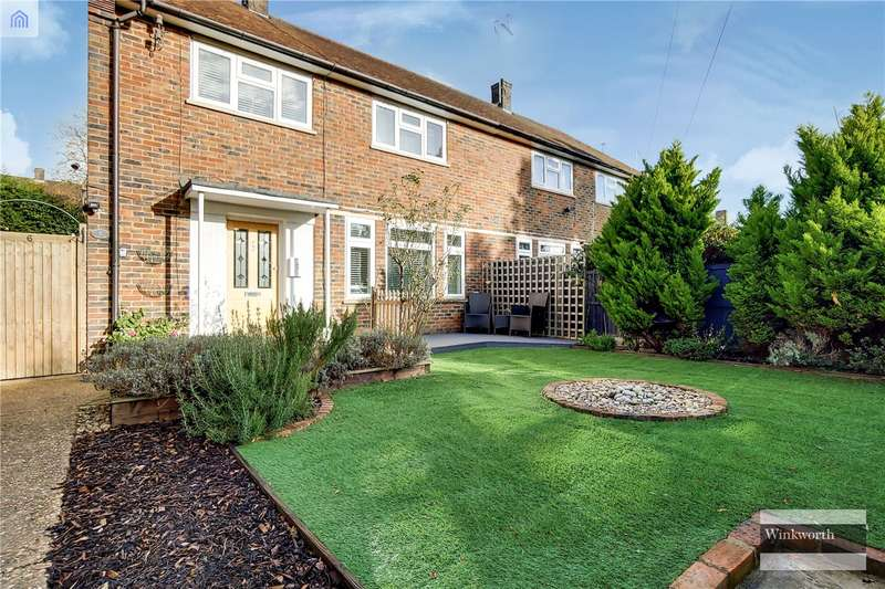 3 Bedrooms End Of Terrace House for sale in Stilton Path, Borehamwood, Hertfordshire, WD6