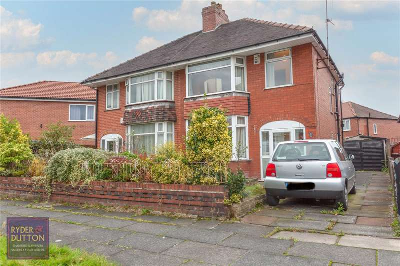 3 Bedrooms Semi Detached House for sale in Kirkway, Blackley, Manchester, M9
