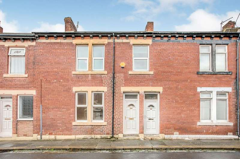 2 Bedrooms Flat for rent in Percy Street, Wallsend, NE28