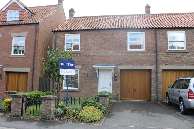 3 Bedrooms Semi Detached House for rent in Wilkinsons Court, Easingwold, York, YO61 3GH