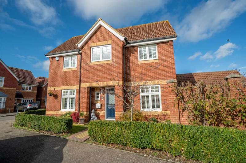3 Bedrooms Detached House for sale in Emperor Way, Knights Park, Ashford, Kent, TN23 3QY