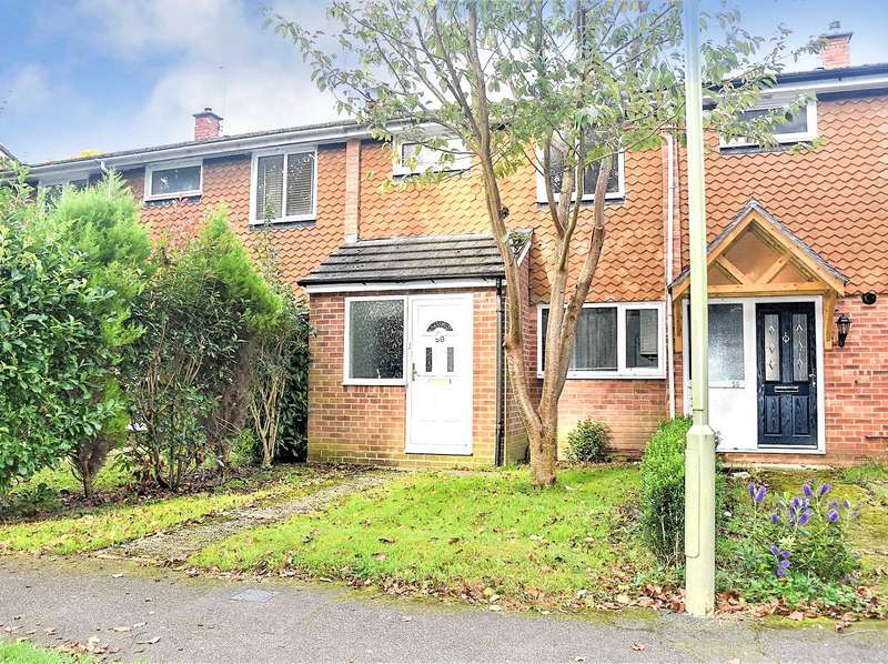 3 Bedrooms Terraced House for rent in Brookside Walk, Tadley, Hampshire, RG26