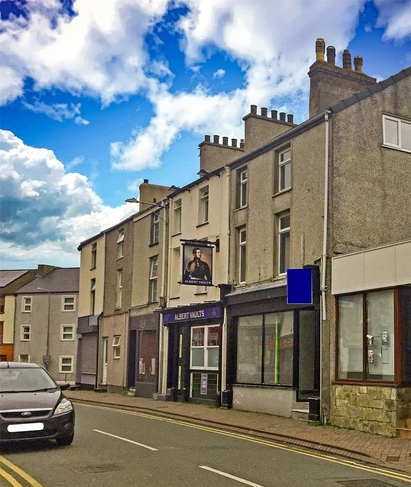 Retail Property (high Street) Commercial for sale in Stanley Street, Holyhead, Anglesey, LL65