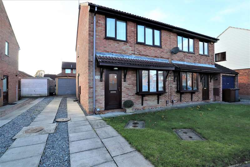 3 Bedrooms Semi Detached House for sale in Swayne Close, Lincoln