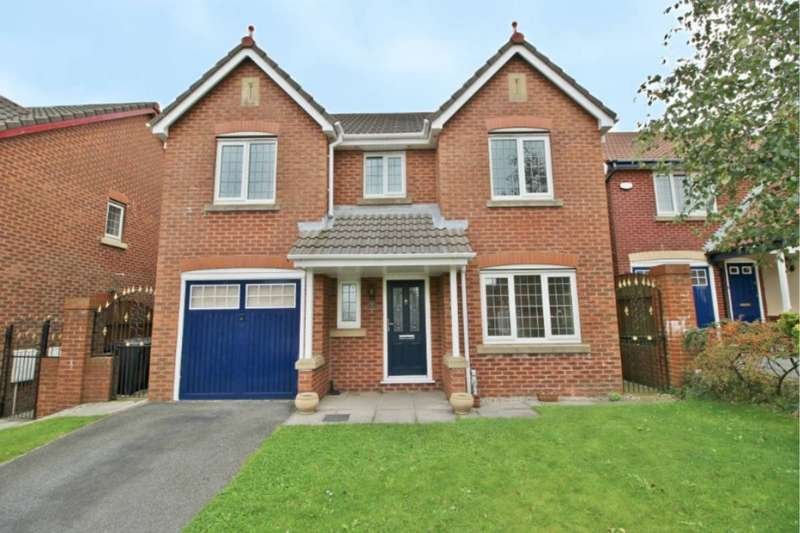 4 Bedrooms Detached House for sale in Broadacre, Upholland, WN8