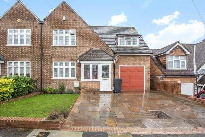 4 Bedrooms Semi Detached House for sale in Cherry Walk, Bromley
