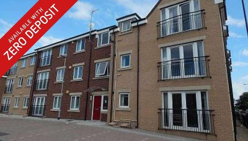 1 Bedroom Apartment Flat for rent in Rokerlea, Sunderland
