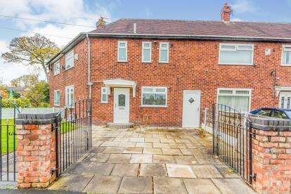 3 Bedrooms End Of Terrace House for sale in Stoneacre Road, Wythenshawe, Manchester, Greater Manchester