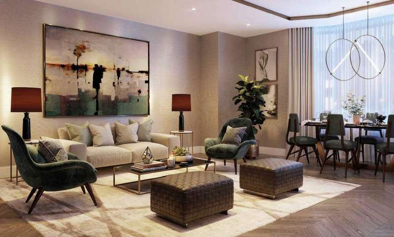 2 Bedrooms Apartment Flat for sale in MILLBANK QUARTER, SW1P