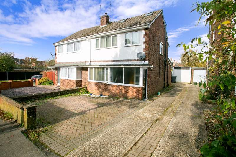 4 Bedrooms Semi Detached House for sale in Morley Road, Harrow Way, Basingstoke, RG21