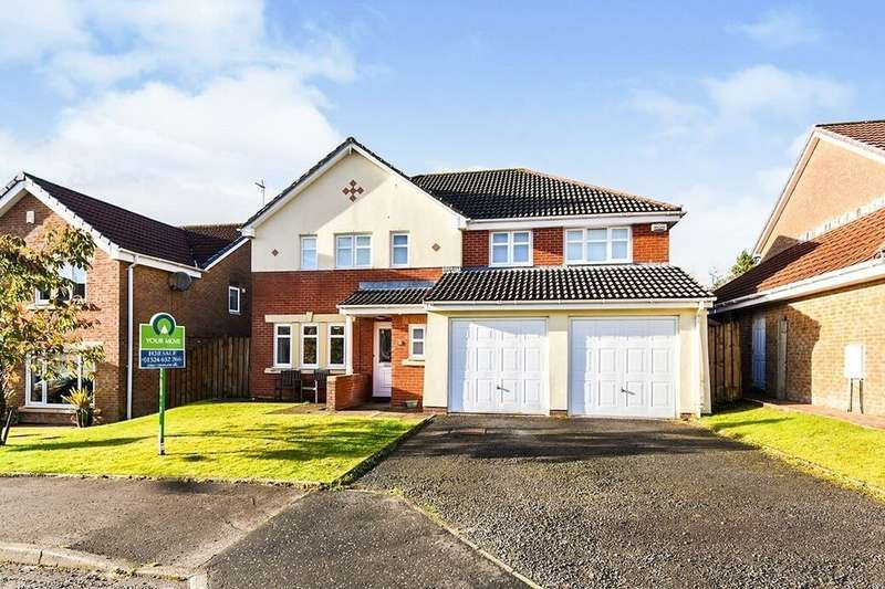 5 Bedrooms Detached House for sale in Ratho Drive, Cumbernauld, G68